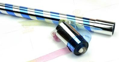 >Appearing Cane 90cm (Blue & Silver)