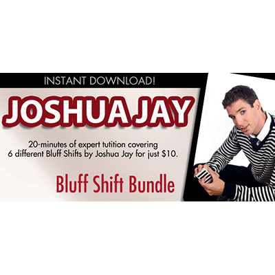 Bluff Shift Bundle by Joshua Jay and Vanishing, Inc. video DOWNL