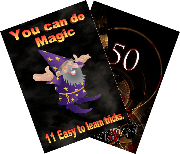 Sample of Custom Magic Books