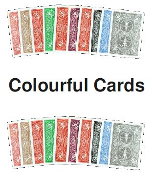 >Colourful Cards
