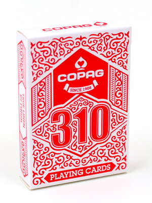 >Copag 310 Playing Cards - Red