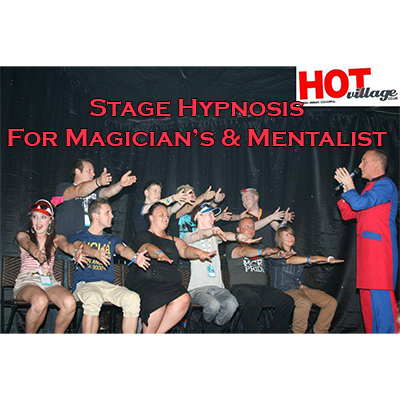 Stage Hypnosis for Magicians & Mentalists by Jonathan Royle - eB