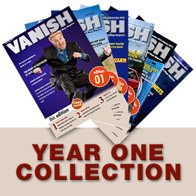 VANISH Magazine (Year 1) eBook DOWNLOAD