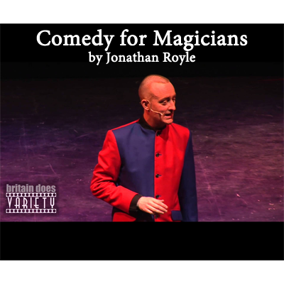 Comedy for Magicians by Jonathan Royle - eBook DOWNLOAD
