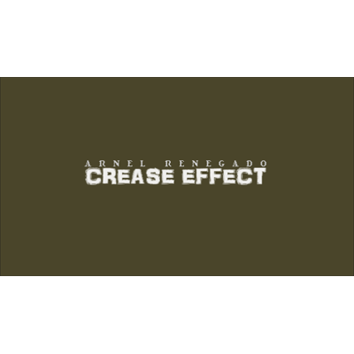 Crease Effect - by Arnel Renegado - Video DOWNLOAD