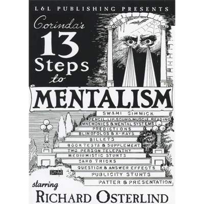 13 Steps To Mentalism (6 Videos) by Richard Osterlind video DOWN