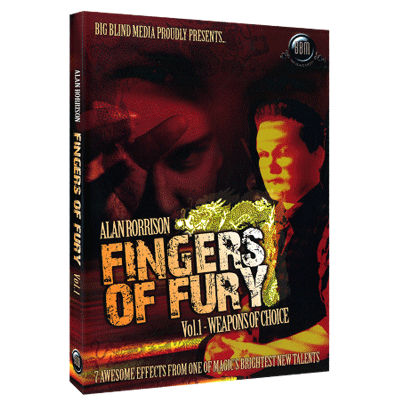 Fingers of Fury Vol.1 (Weapons Of Choice) by Alan Rorrison & Big