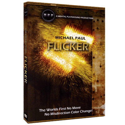 New from the mind of michael paul comes flicker this is a magic first