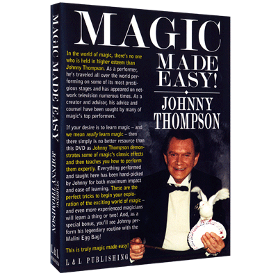 Johnny Thompson's Magic Made Easy by L&L Publishing video DOWNLO