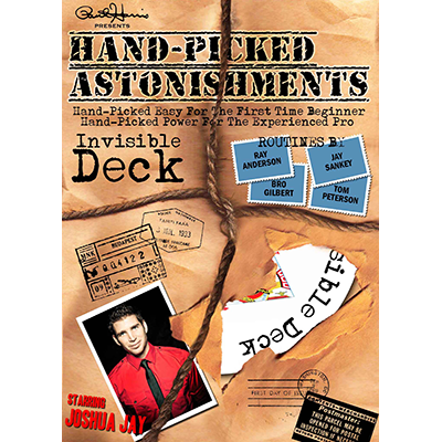 Handpicked Astonishments (Invisible Deck) by Paul Harris and Jos