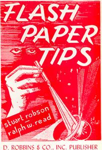 Flash Paper Tips booklet
