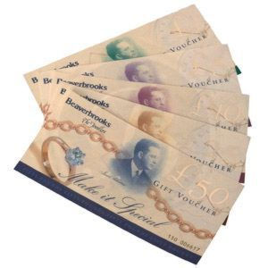 >£5 Gift Voucher<br><span class=
