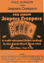 Jeepers Creepers packet card trick