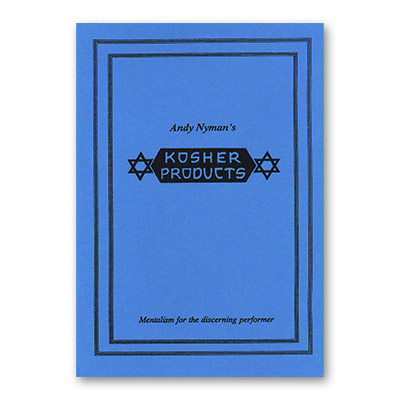 Kosher Products: Lecture Notes by Andy Nyman & Alakazam Magic