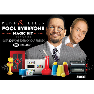 Penn and Teller finally release their own magic set.