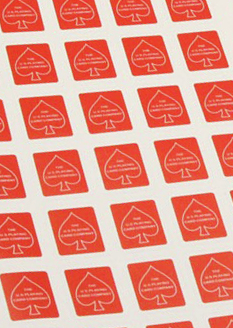 Deck Seals (Bicycle Red)