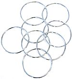 "10"" Linking Rings (Set of 8)"