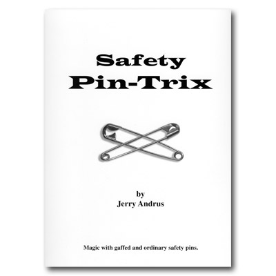 Safety Pin Trix by Jerry Andrus