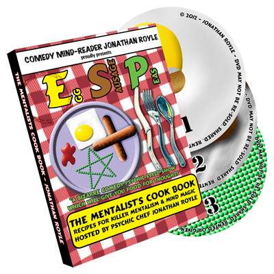 E.S.P. (Eggs, Sausage & Peas) 3 Disc Set by Jonathan Royle