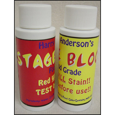 Stage Blood Food Grade by Harry Anderson