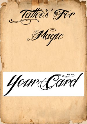 Your Card Tattoo x 10