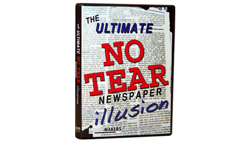 The Ultimate No Tear Newspaper Illusion