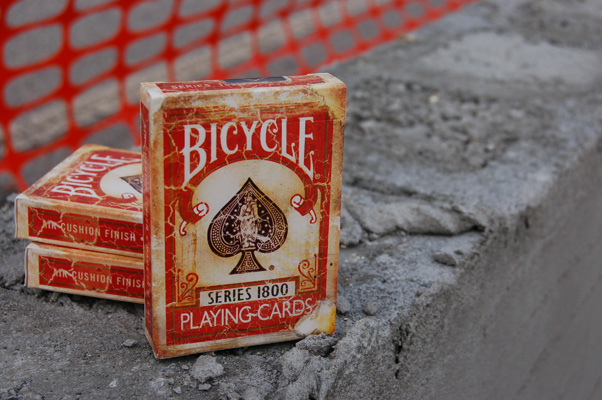 Bicycle 1800 Vintage Playing Cards Red - Ellusionist