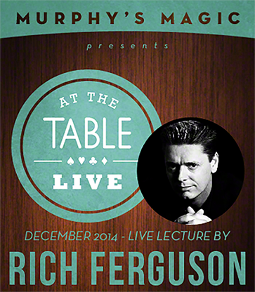 At the Table Live Lecture - Rich Ferguson 12/17/2014 - video DOW