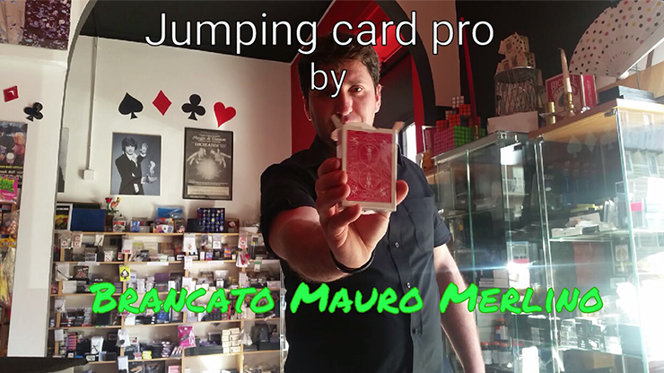 Jumping Card Pro by Brancato Mauro Merlino (magie di merlino) vi