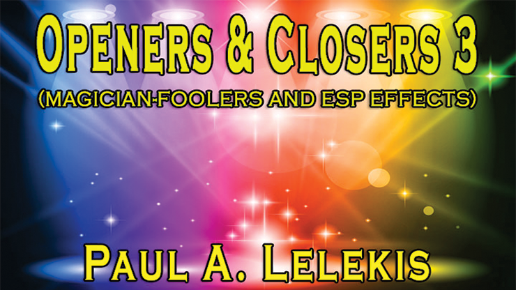 >Openers & Closers 3 by Paul A. Lelekis Mixed Media DOWNLOAD
