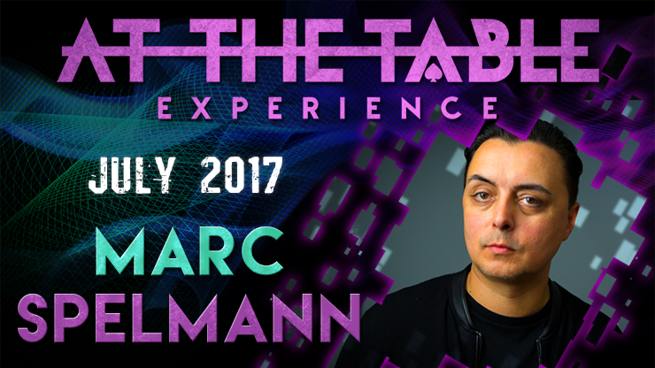 At The Table Live Lecture Marc Spelmann July 19th 2017 video DOW