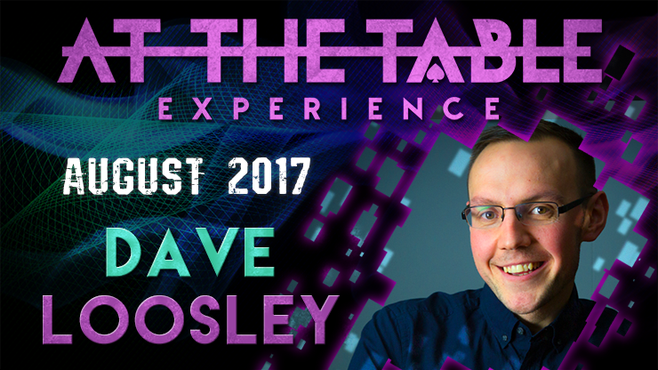 At The Table Live Lecture Dave Loosley August 2nd 2017 video DOW
