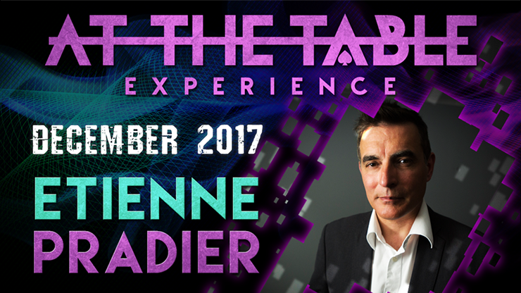 At The Table Live Lecture Etienne Pradier December 20th 2017 vid