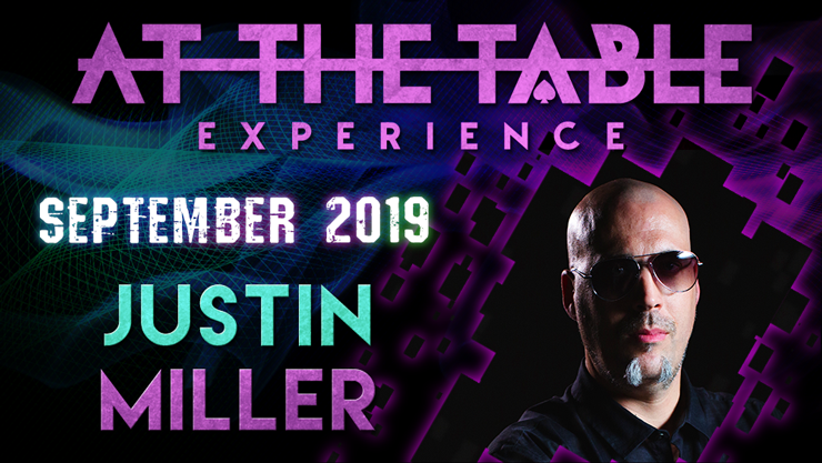 At The Table Live Lecture Justin Miller 2 September 4th 2019 vid