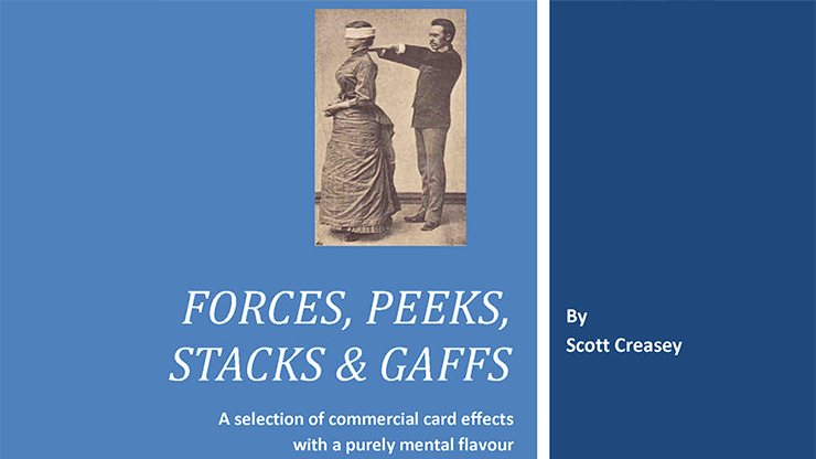 Forces, Peeks, Stacks & Gaffs Ebook - Mentalism with Cards by Sc