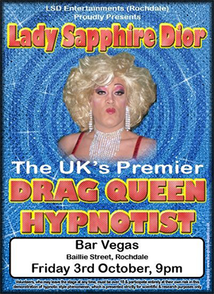 Drag Queen Comedy Stage Hypnosis Course by Jonathan Royle & Lady