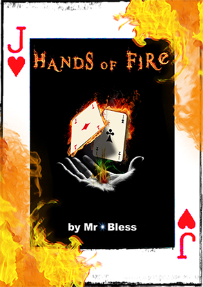 >Hands of Fire by Mr Bless Mixed Media DOWNLOAD