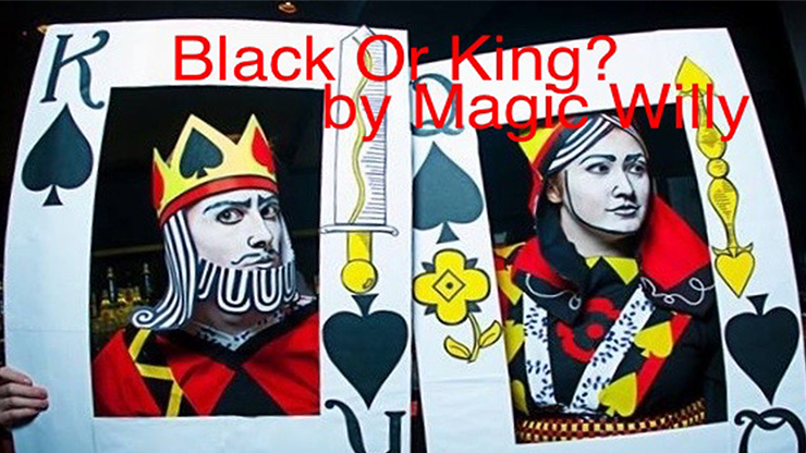 >BLACK OR KING? by Magic Willy (Luigi Boscia) video DOWNLOAD