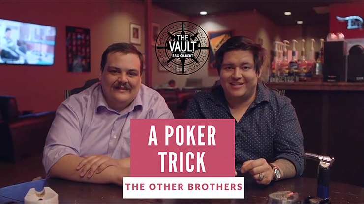 >The Vault - A Poker Trick by The Other Brothers video DOWNLOAD