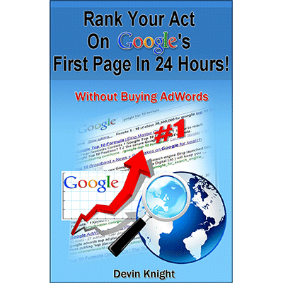 How To Rank Your Act on Google by Devin Knight - ebook