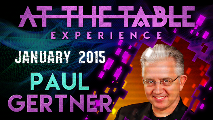 At the Table Live Lecture - Paul Gertner 01/07/2015 - video DOWN