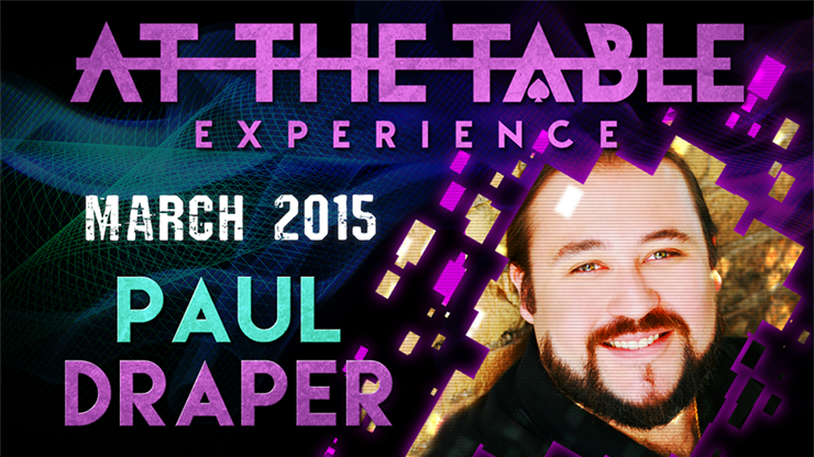 At the Table Live Lecture - Paul Draper 3/11/2015 - video DOWNLO