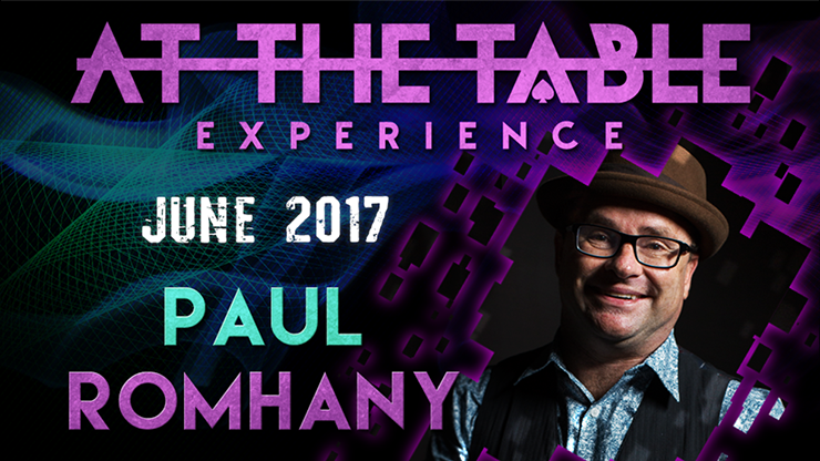 At The Table Live Lecture Paul Romhany June 7th 2017 video DOWNL