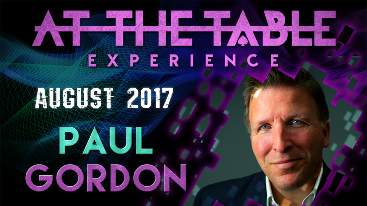 At The Table Live Lecture Paul Gordon August 16th 2017 video DOW