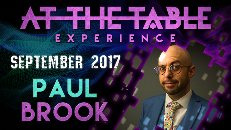 At The Table Live Lecture Paul Brook September 20th 2017 video D